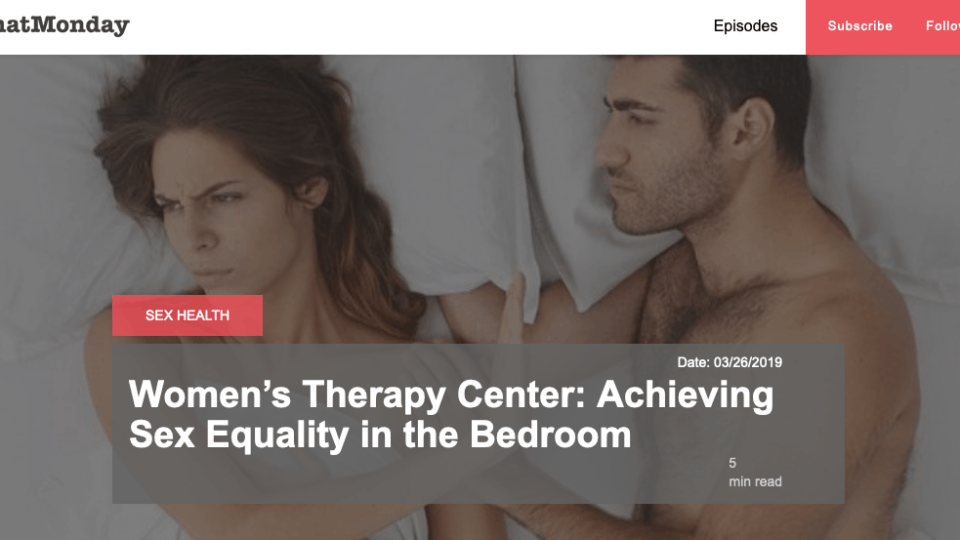 Watch Achieving Sexual Equality in the Bedroom