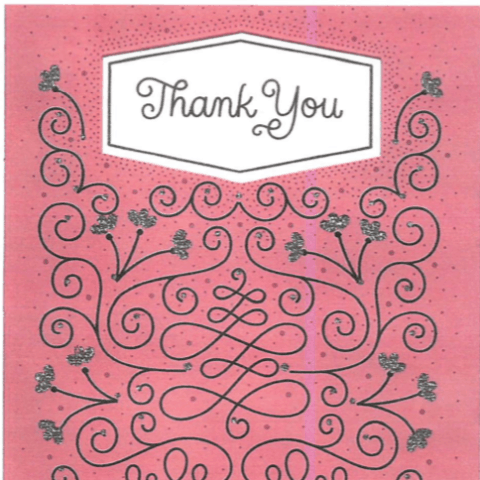 Thank you card for curing vaginismus